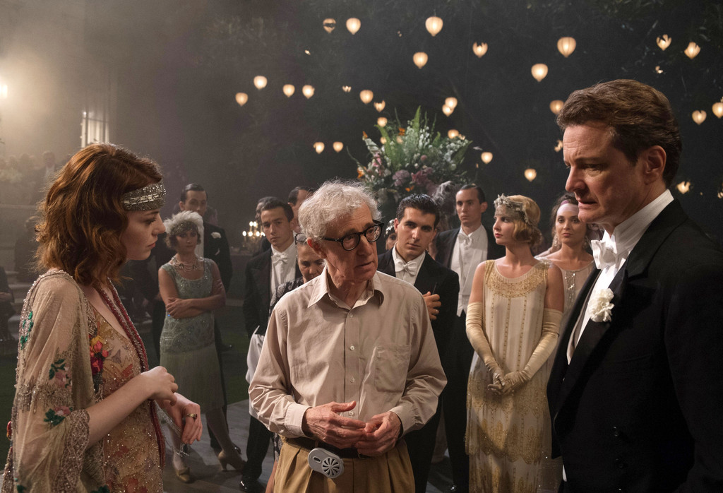 Woody Allen back in spotlight, promoting new film