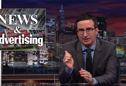 Why John Oliver Is Wrong on Native Advertising