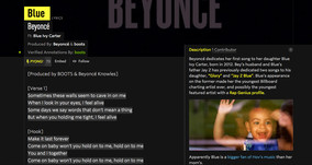 Genius' Mission to Annotate the World of Music