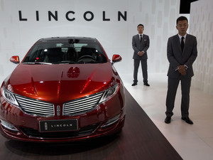 Ford to sell Lincoln cars in China for first time
