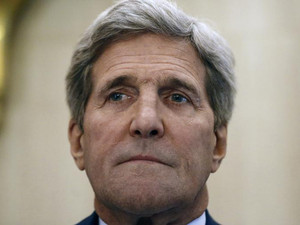 Kerry lands in Israel on Gaza truce mission