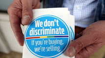 Business window stickers protest Mississippi law
