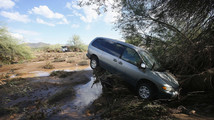 Cleanup follows heavy storms in Phoenix area