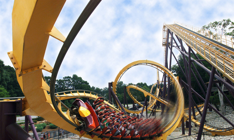 Try Six Flags Over Georgia for a more twisty-turny Spring Break. (Kevin Rose, AtlantaPhotos.com)