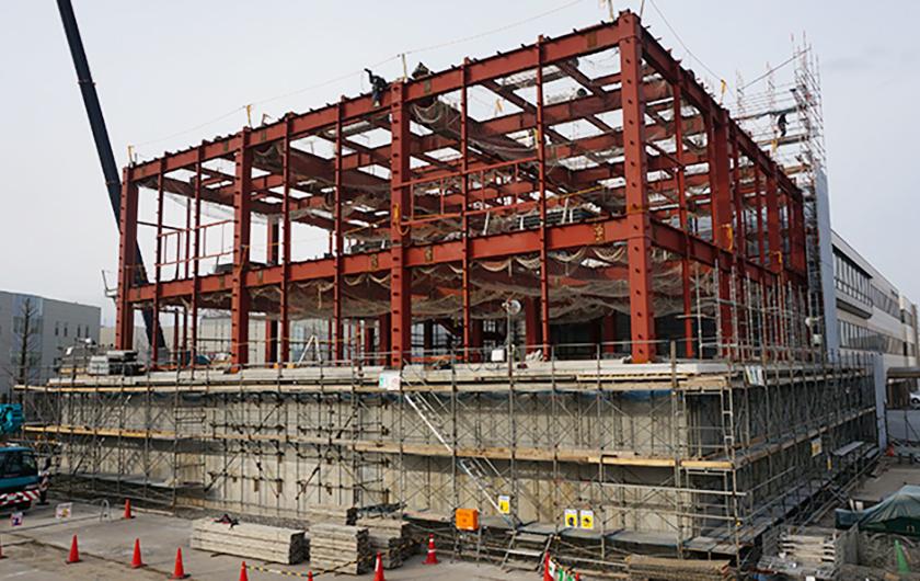 メインビジュアル : 富士通に一級建築士?!安心安全な社会を支えるデータセンターを創る