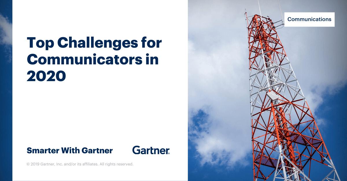 Gartner Events 2020.Gartner Top Priorities For Communicators In 2020