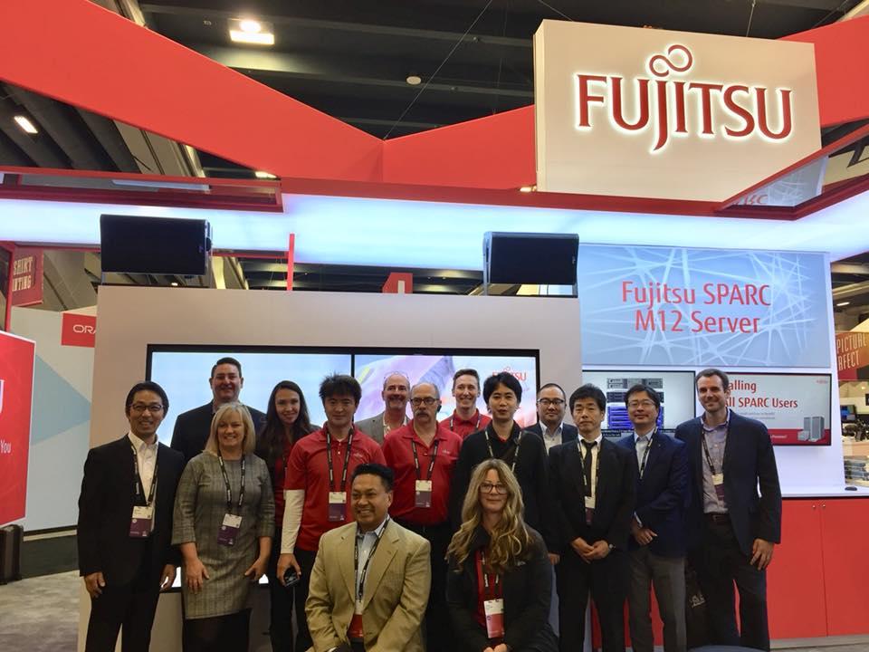 Main visual : Fujitsu SPARC at Oracle Open World 2018