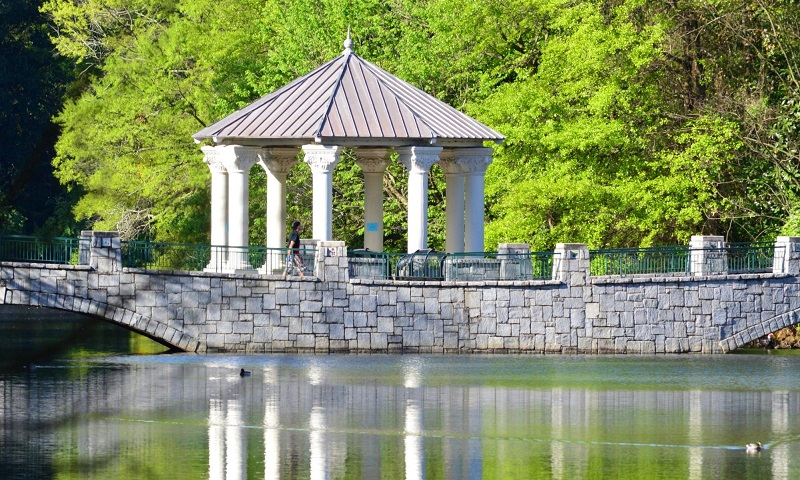 Atlanta's Piedmont Park is an urban oasis.