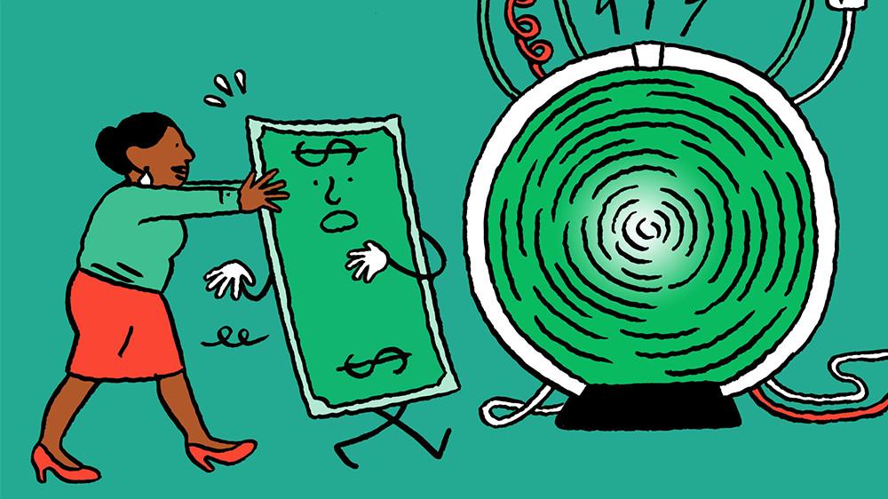 メインビジュアル : 消えゆく現金、暗号通貨に置き換わるか