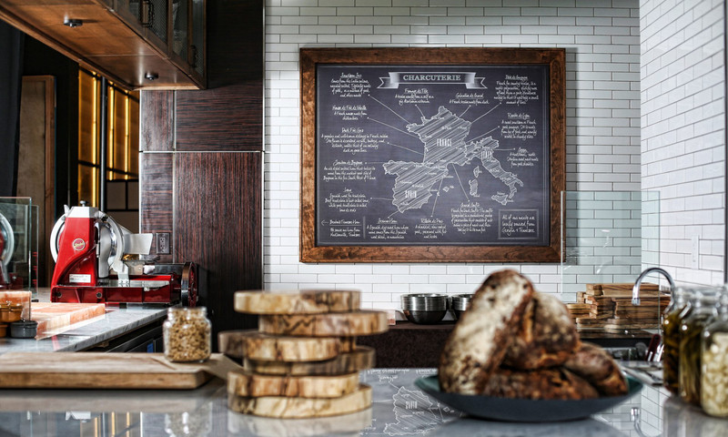 Lowe's Hotel in Midtown has a burger bar and Saltwood Charcuterie & Bar.
