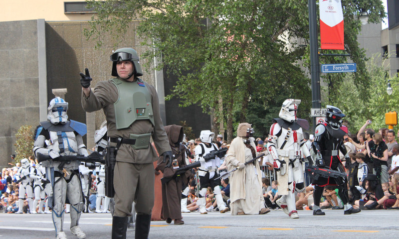 If you are confused about Dragon Con, you can always ask a friendly Stormtrooper.