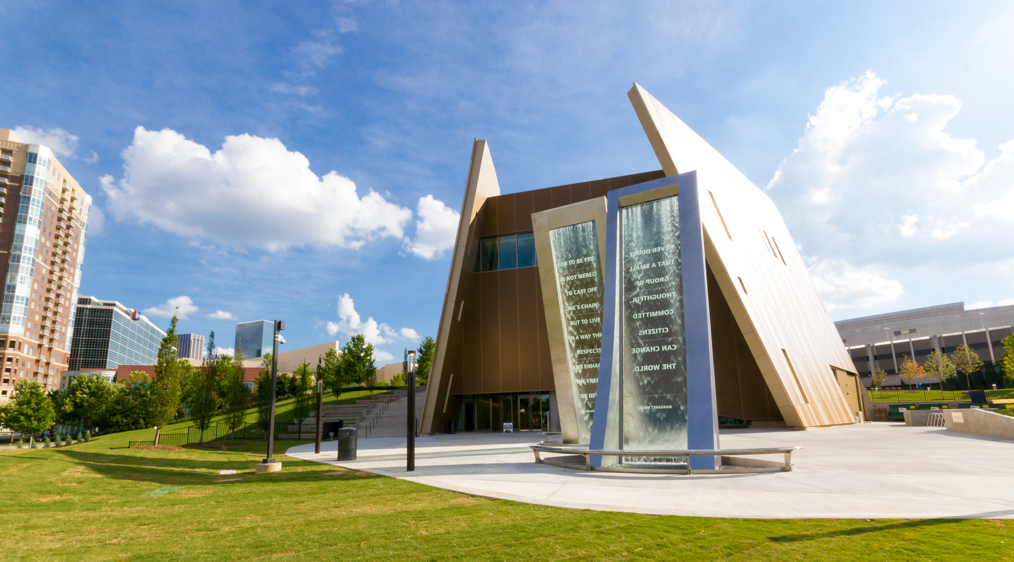 Relive the civil rights era in America at the National Center for Civil and Human Rights in Atlanta