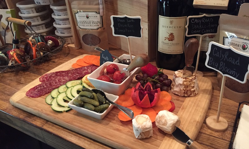 Wahoo! Provisions has lots of foods to go along with a terrific wine selection.