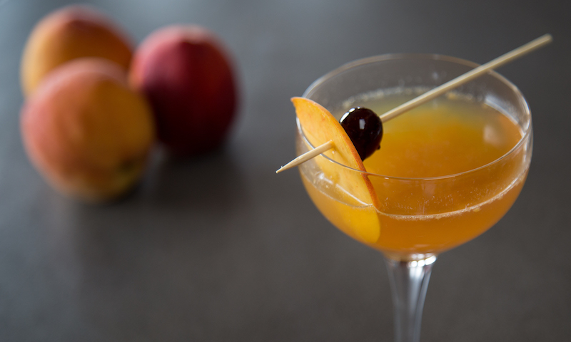 Head to Eleanor's speakeasy in Vinings to sip the perfect peach cocktail.