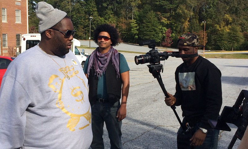 Here's a peek at an interview with Killer Mike taken outside of his polling location on Election Day.