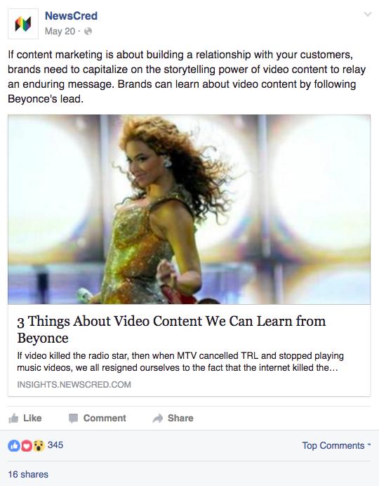 Facebook Beyonce Social Media