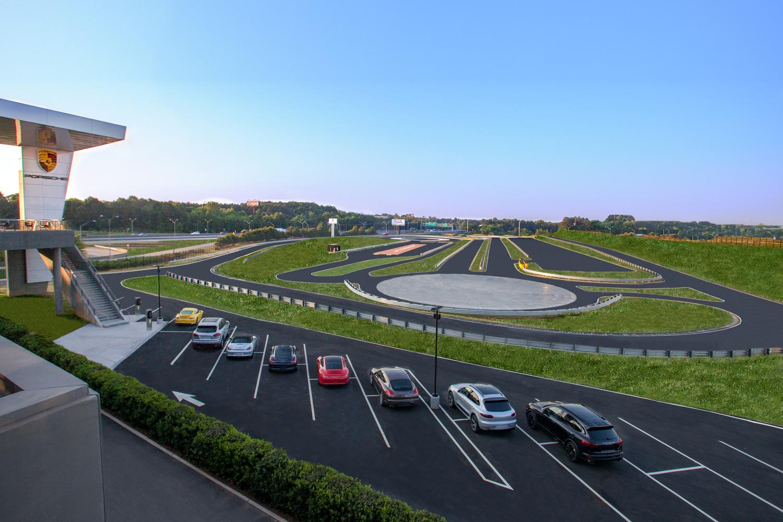 Atlanta Porsche Experience Center Track