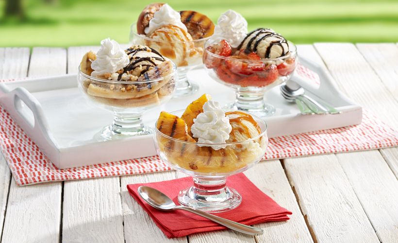 grilled-fruit-ice-cream-sundae-summer-dessert-recipe