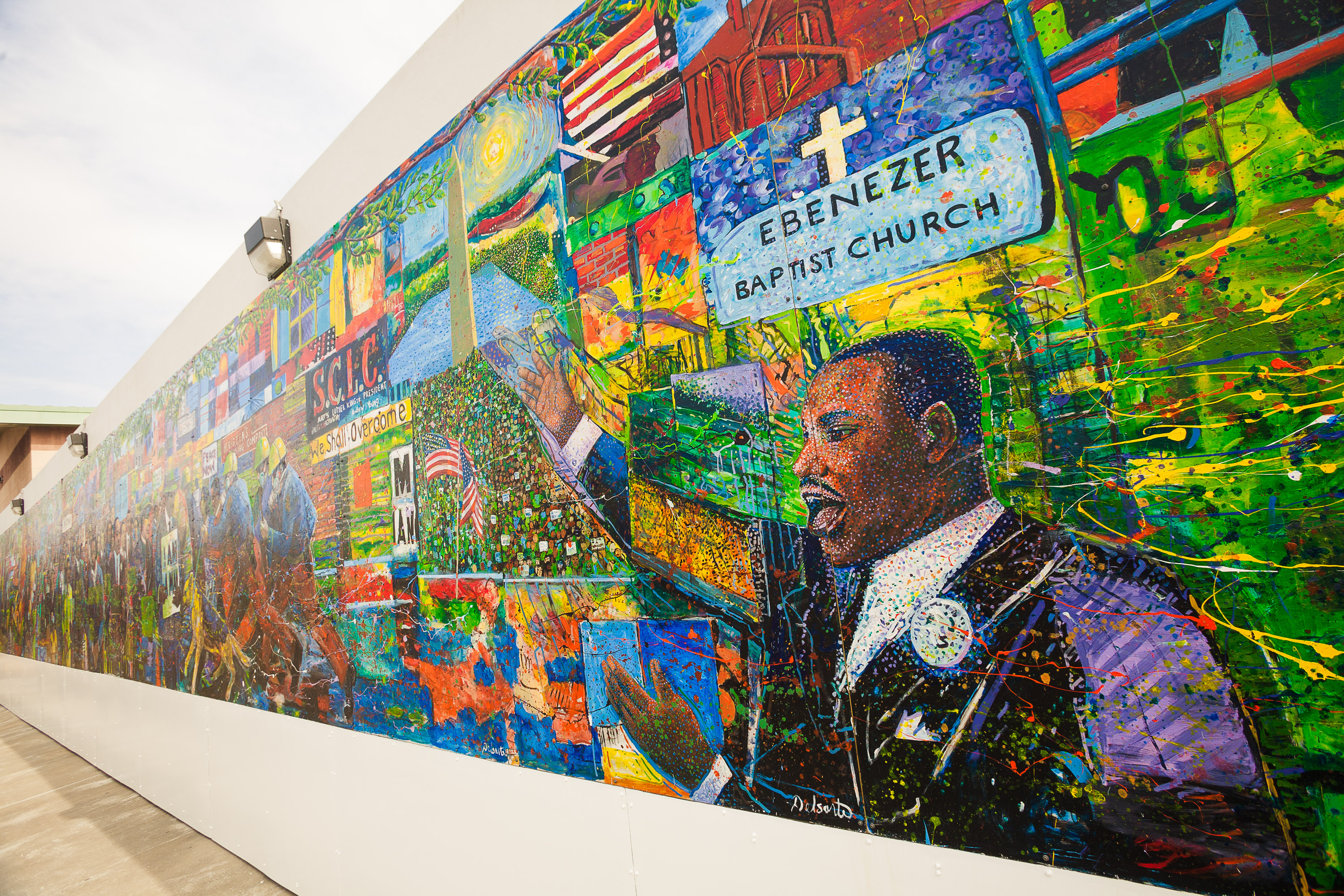 Martin Luther King Jr. Memorial Mural