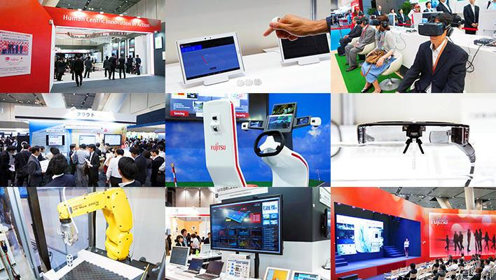 メインビジュアル : 展示エリアで最先端のテクノロジーを体感!「富士通フォーラム2016」