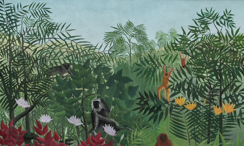 "See Henri Rousseau's ""Tropical Forest with Monkeys"" in the new High exhibit."