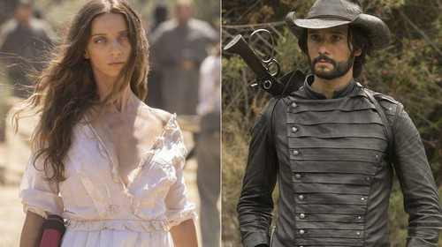 Westworld's Hector and Clementine posters are a study in opposites