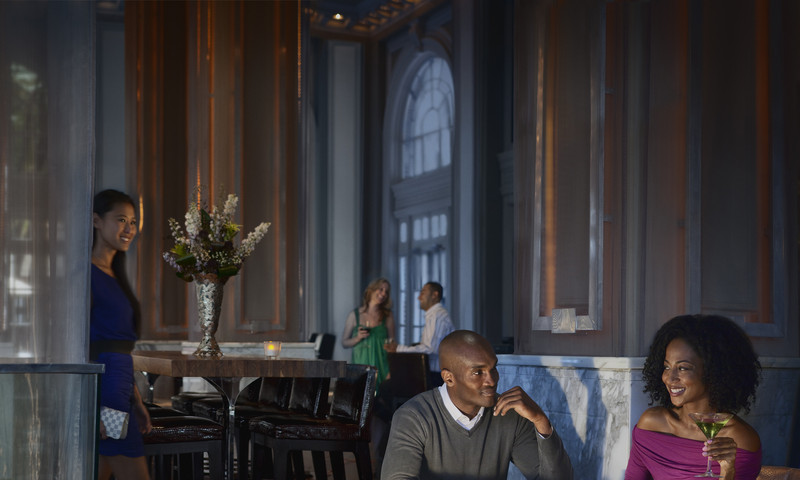Stop in at Livingston Restaurant & Bar (Georgian Terrace) before or after theater at the Fox.