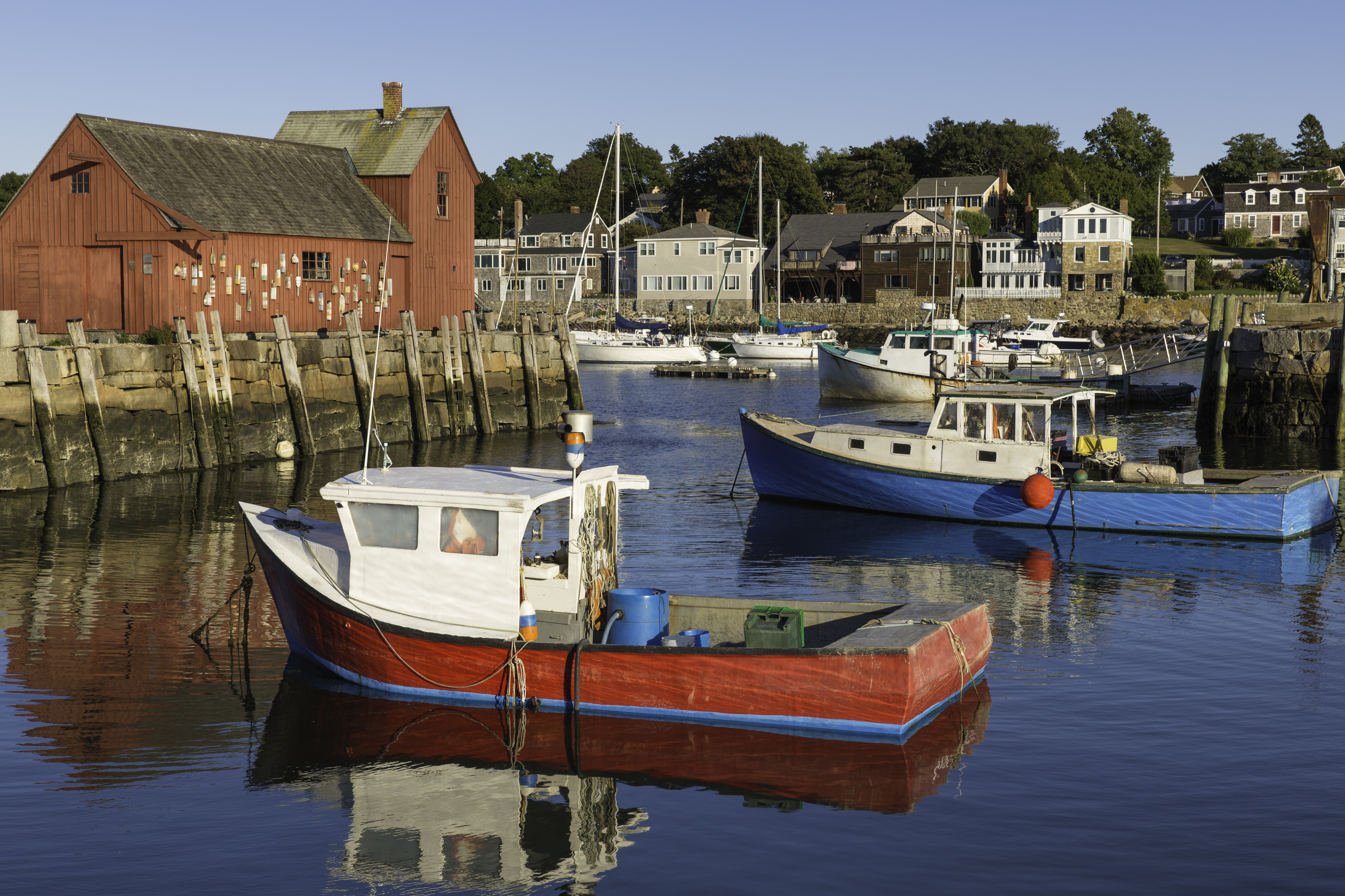 Rockport Harbor, Massachusetts USA