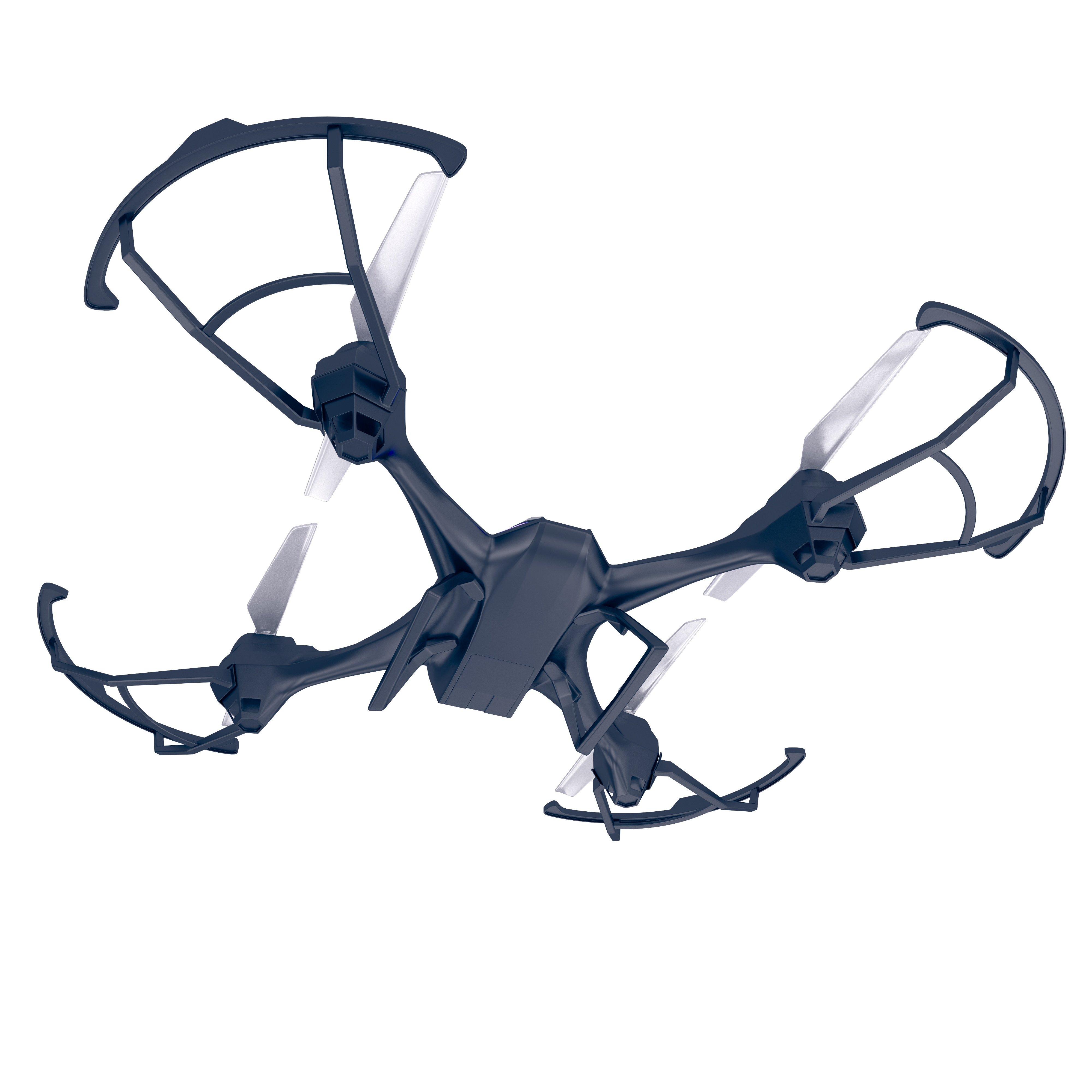 Drone quadrocopter. New tool for aerial photo and video. 3d illustration