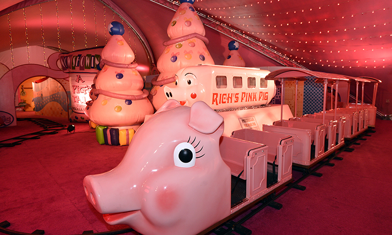 The Pink Pig is an Atlanta tradition.