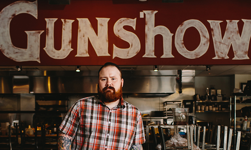 "Chef Kevin Gillespie, a finalist on ""Top Chef,"" runs two Atlanta-area restaurants."