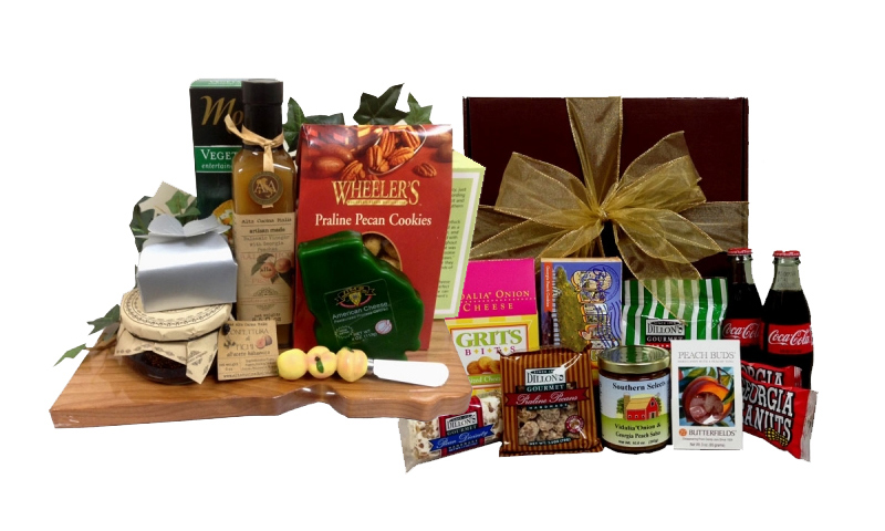 Gifts For Out Of Town Wedding Guests: Atlanta-Themed Gift Baskets