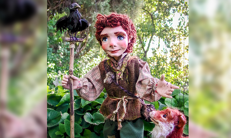 "Puppeteer David Simpich brings ""The Secret Garden"" to life. (Simpich Marionettes)"