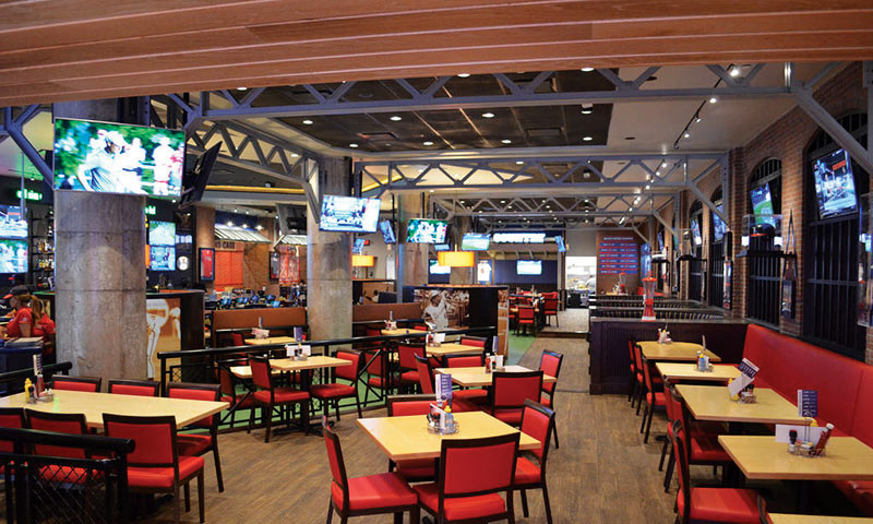 The Braves All Star Grill is the perfect combination of great food and sports.