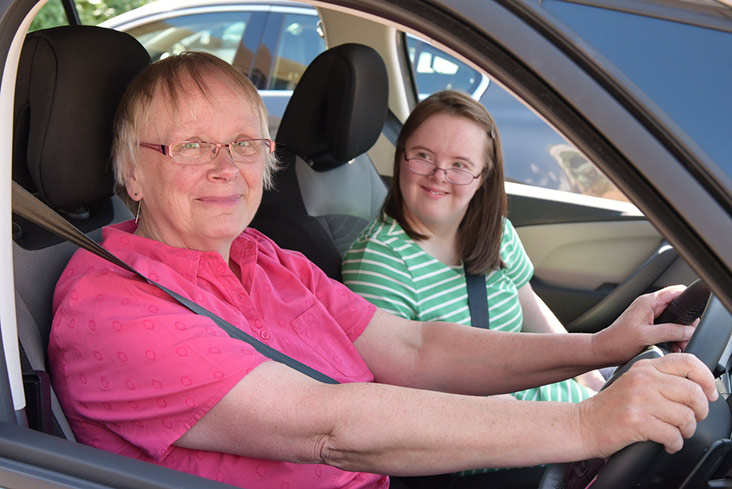 Motability Scheme customer driving car.jpg