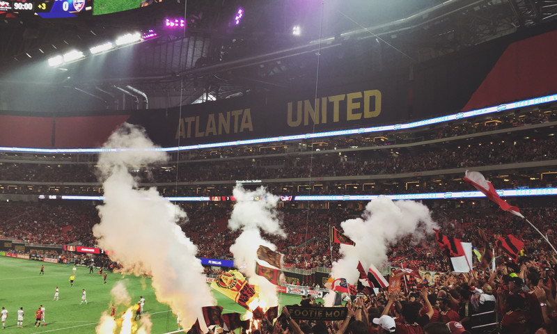 Major League Soccer fans might schedule a trip around an Atlanta United game. (Allie Bartelski)