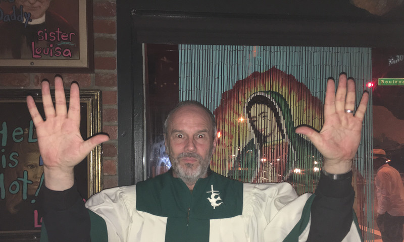 """Going to """"church"""" has a whole different meaning at Sister Louisa's Church of the Living Room & Ping Pong Emporium."""