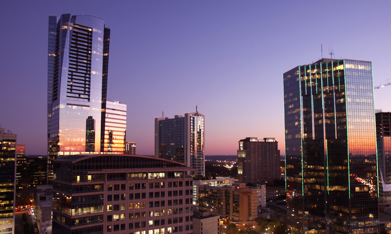 Atlanta is the shopping hub of the south.