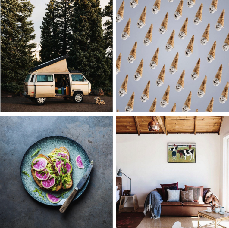 Squarespace best B2B instagram account