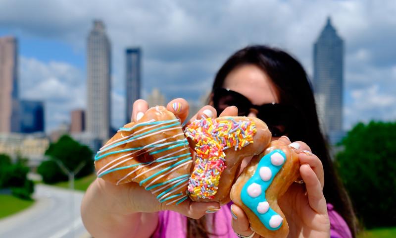 We've got ATL's best doughnuts on our mind. (Photo credit: Rebecca Carmen, Instagram @rebeccacarmen)