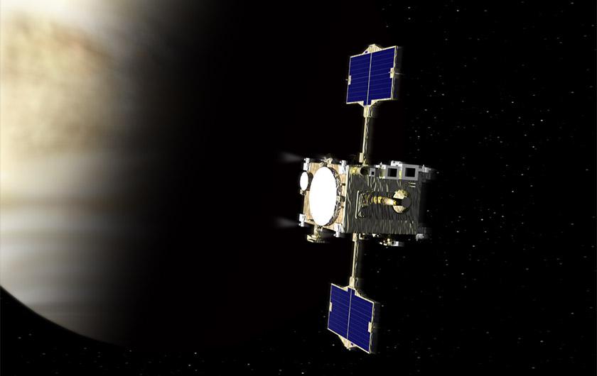 メインビジュアル : 惑星探査の歴史に大きな一歩!金星探査機「あかつき」を支える最先端テクノロジー