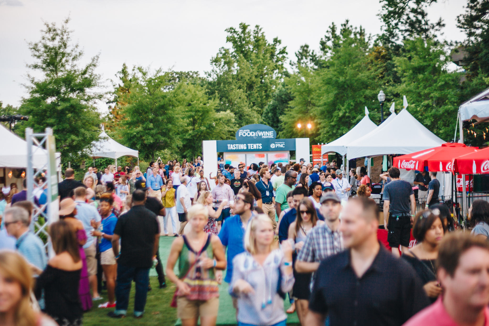 Tasting Tent Experiences in Old Fourth Ward Park