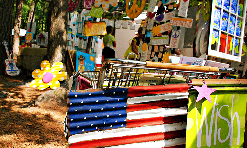 The Yellow Daisy Festival at Stone Mountain Park is a favorite for arts and crafts fans. (Joleen Pete)