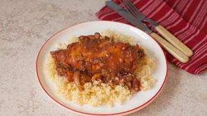 Multi-cooker Moroccan chicken