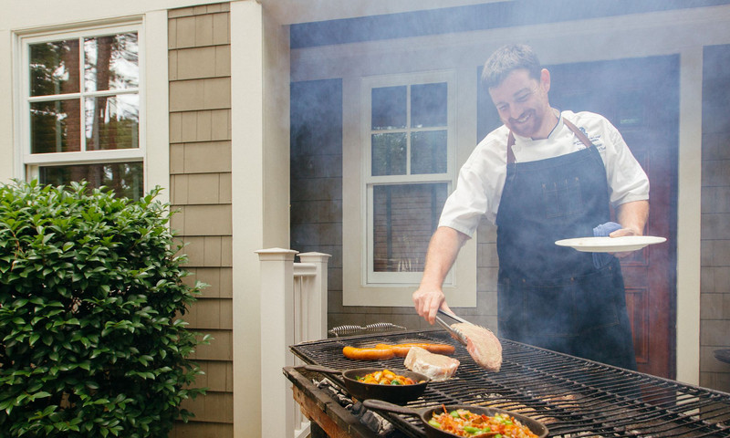 The Ritz-Carlton Lake Oconee offers a splendid weekend of activities for Dad, including a BBQ Butler.