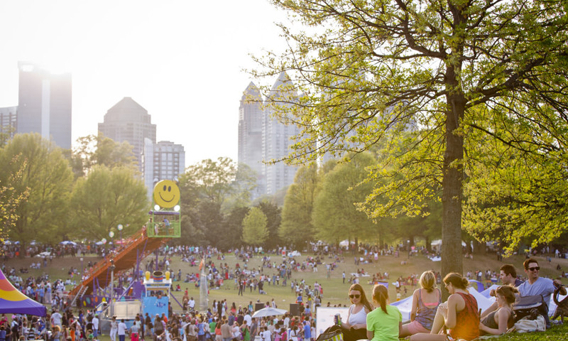 The Dogwood Festival is but one Atlanta outdoor adventure. (Atlanta Dogwood Festival)