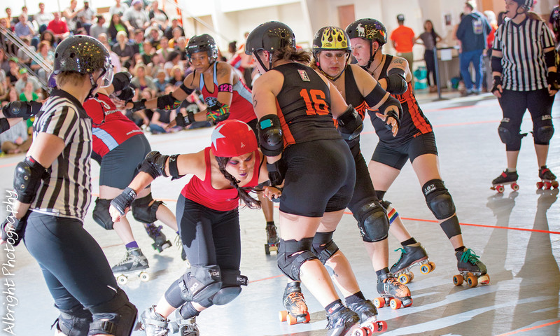Atlanta Roller Girls are back for their 13th season. (Chris Albright)