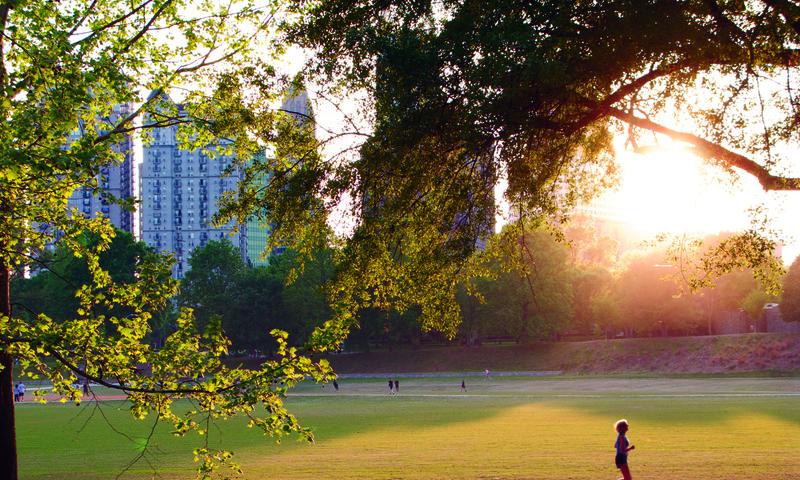 Piedmont Park is a scenic Atlanta spot. (Ciapix)