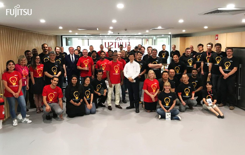 Main visual : Highlights from the inaugural Fujitsu Australia Software Technology Hackathon