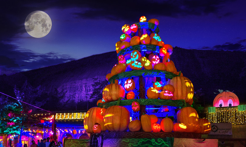 "Get ""glowing"" to the Pumpkin Festival at Stone Mountain Park."